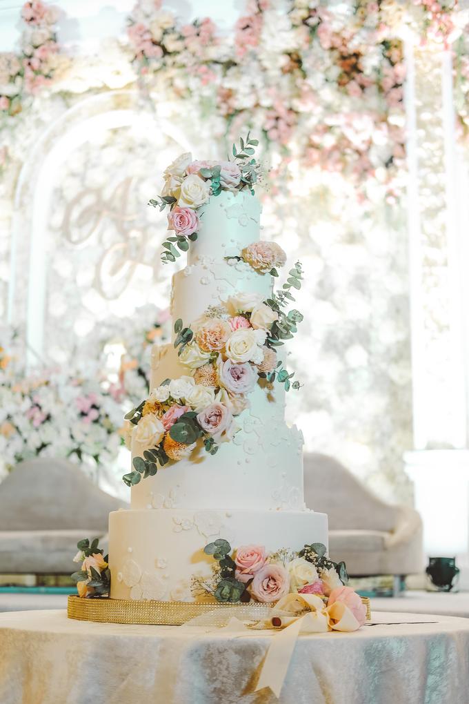 The wedding of Alexius & Henni by KAIA Cakes & Co. - 022