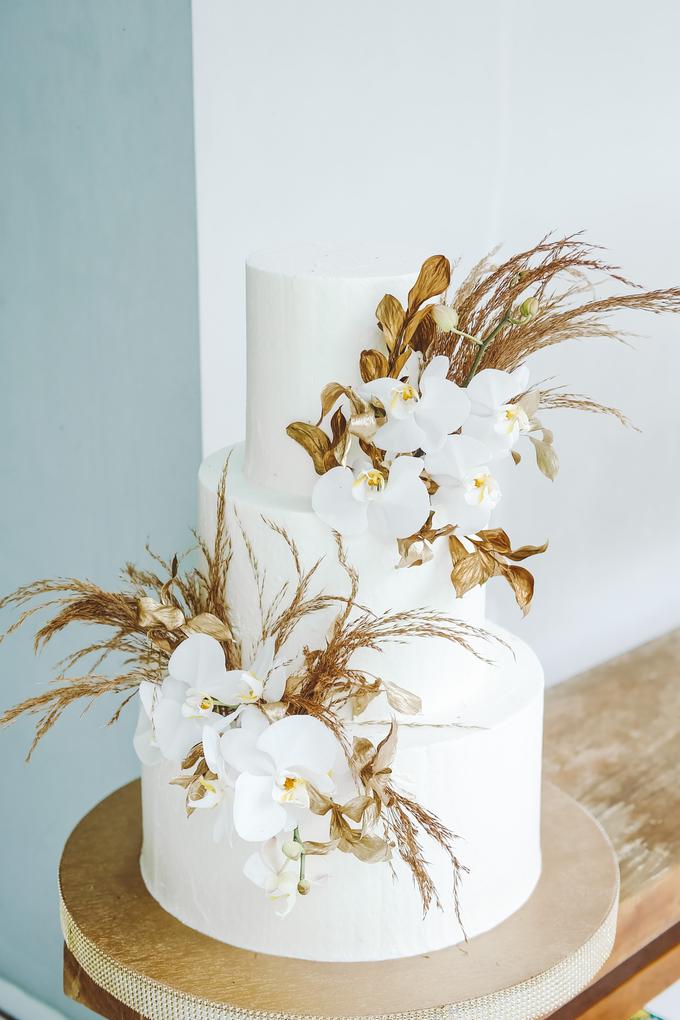 The wedding of Davian & Yolanda by KAIA Cakes & Co. - 004