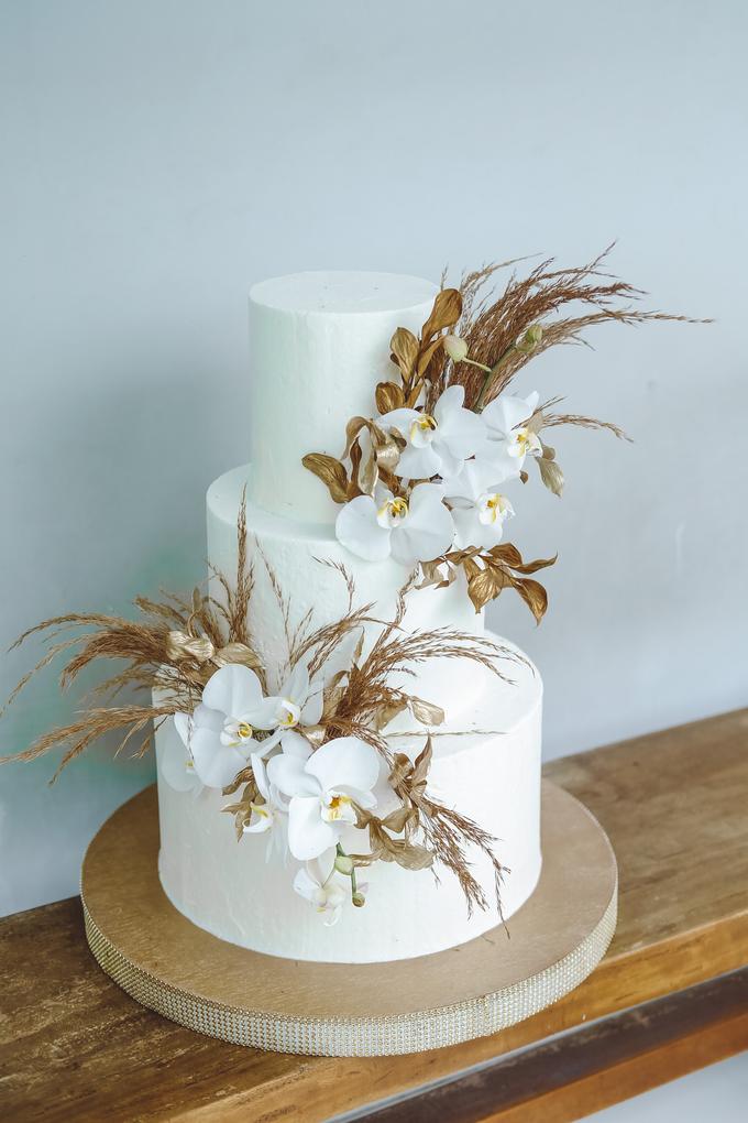 The wedding of Davian & Yolanda by KAIA Cakes & Co. - 009