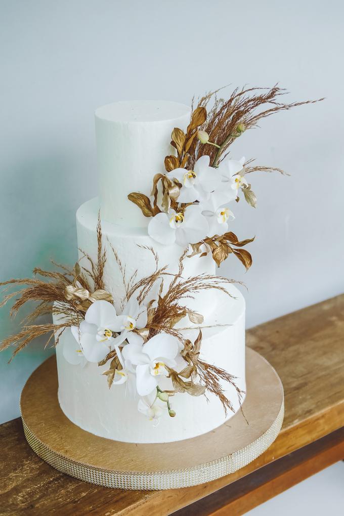 The wedding of Davian & Yolanda by KAIA Cakes & Co. - 010