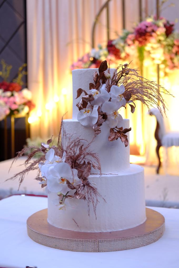 The wedding of Davian & Yolanda by KAIA Cakes & Co. - 016