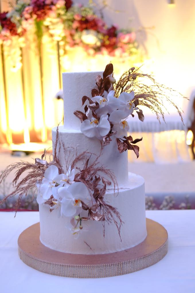 The wedding of Davian & Yolanda by KAIA Cakes & Co. - 017