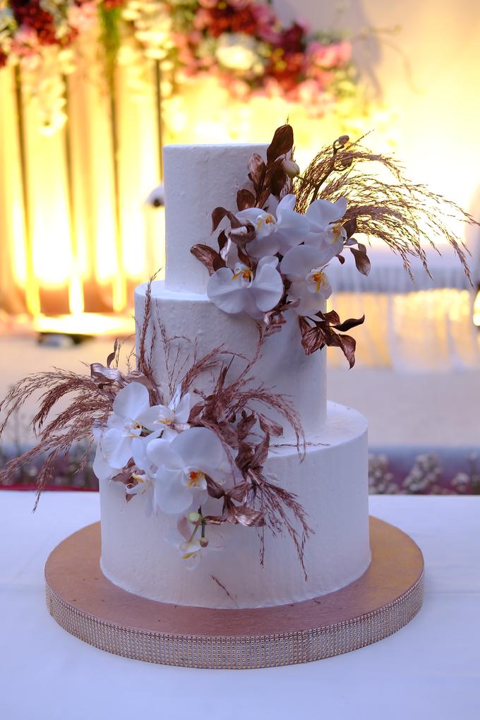 The wedding of Davian & Yolanda by KAIA Cakes & Co. - 018