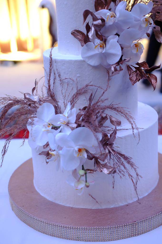 The wedding of Davian & Yolanda by KAIA Cakes & Co. - 019