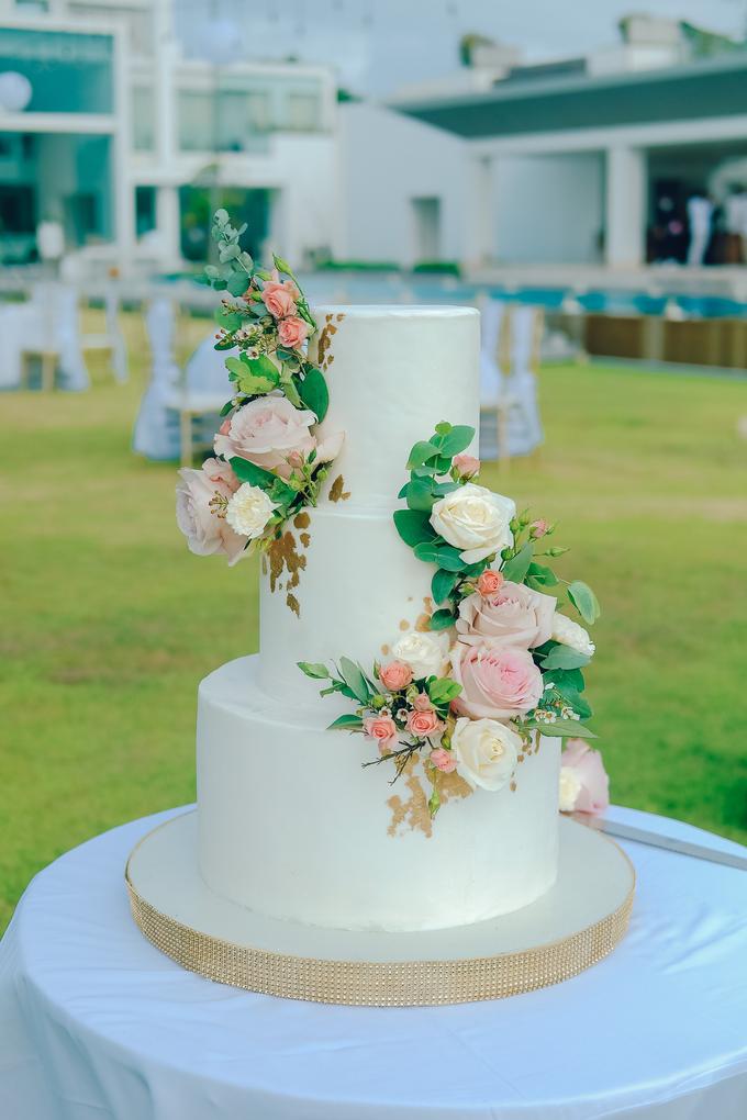 The wedding of Nicholas & Febiola by KAIA Cakes & Co. - 013