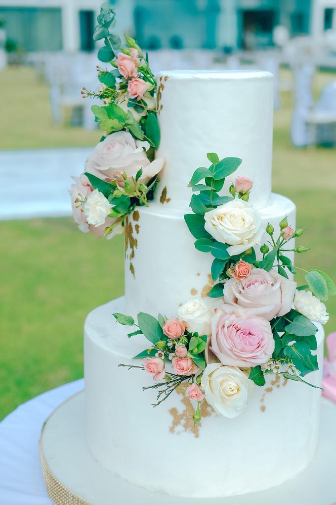The wedding of Nicholas & Febiola by KAIA Cakes & Co. - 014