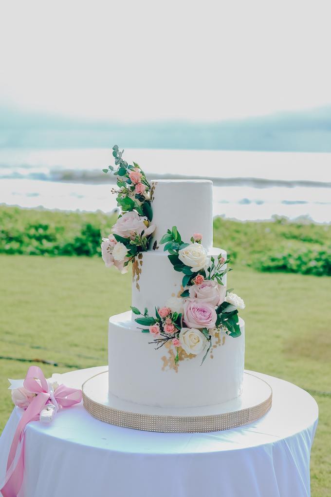 The wedding of Nicholas & Febiola by KAIA Cakes & Co. - 019