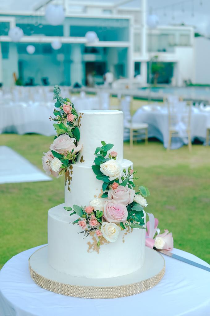The wedding of Nicholas & Febiola by KAIA Cakes & Co. - 022