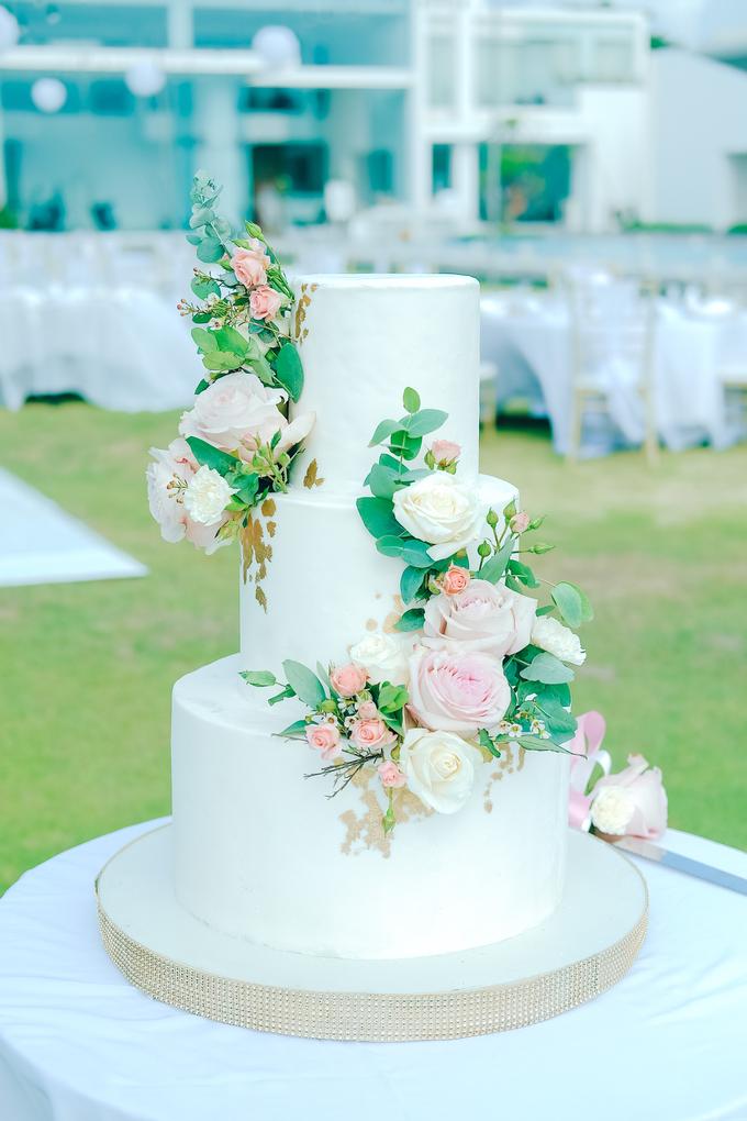 The wedding of Nicholas & Febiola by KAIA Cakes & Co. - 024