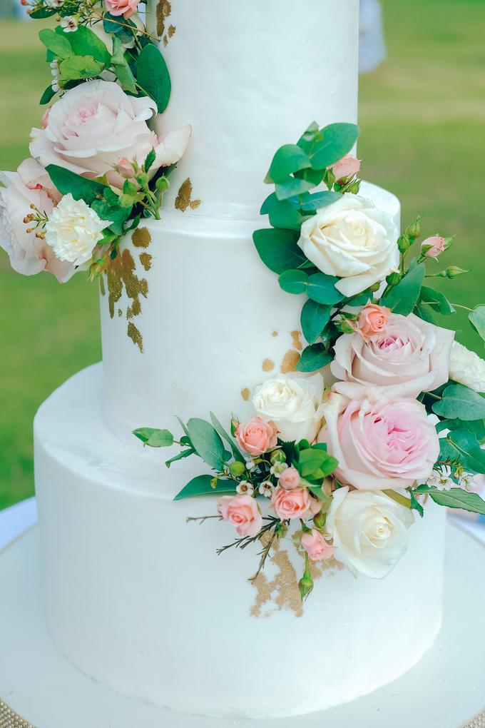 The wedding of Nicholas & Febiola by KAIA Cakes & Co. - 025