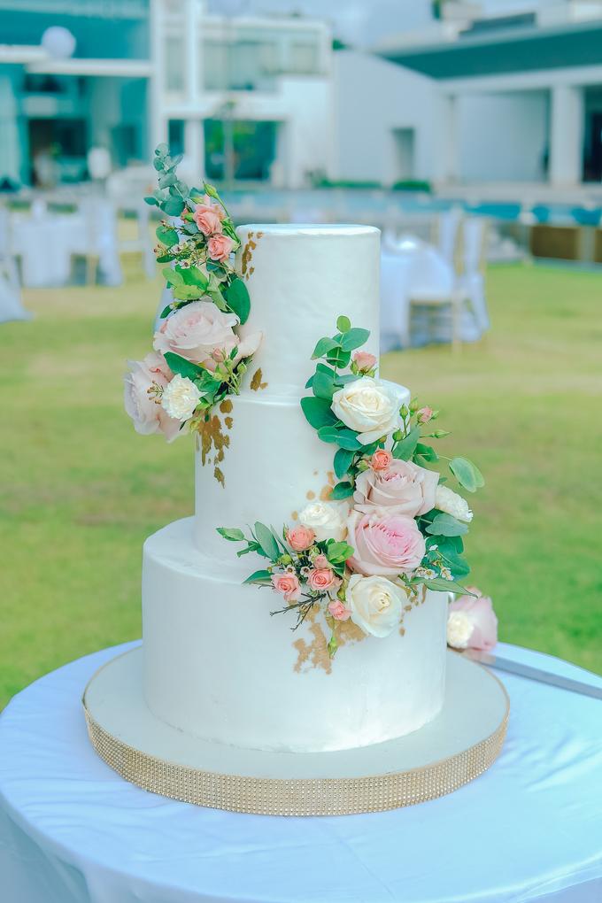 The wedding of Nicholas & Febiola by KAIA Cakes & Co. - 030