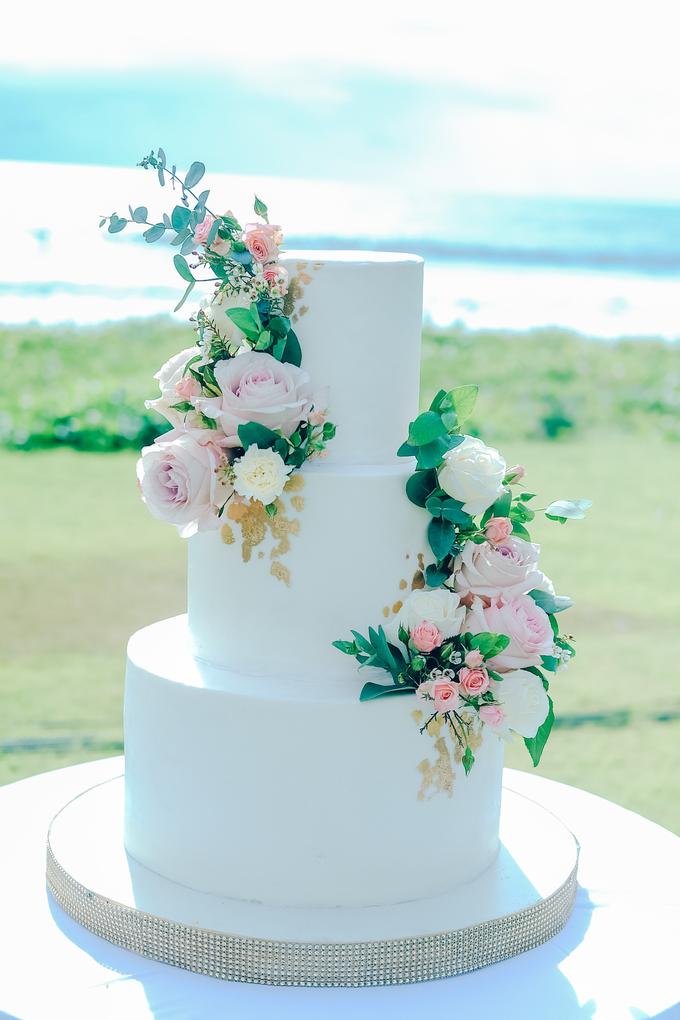 The wedding of Nicholas & Febiola by KAIA Cakes & Co. - 031