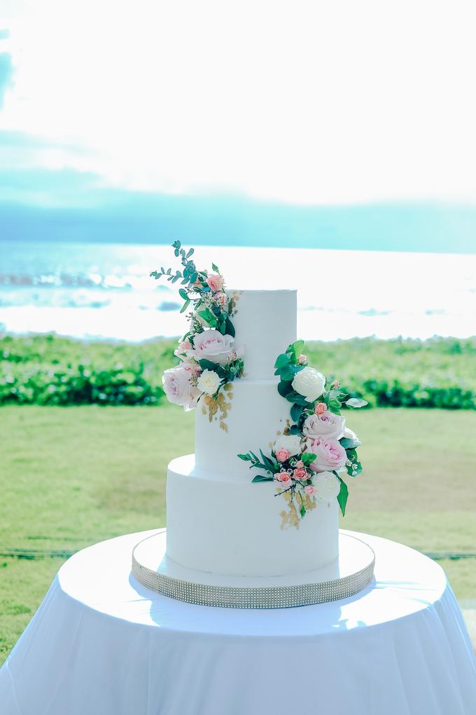 The wedding of Nicholas & Febiola by KAIA Cakes & Co. - 033