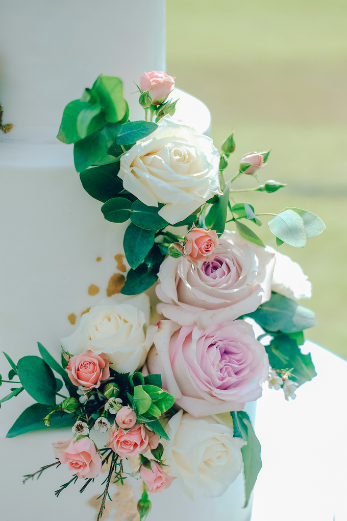 The wedding of Nicholas & Febiola by KAIA Cakes & Co. - 034