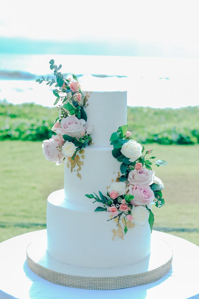 The wedding of Nicholas & Febiola by KAIA Cakes & Co. - 035