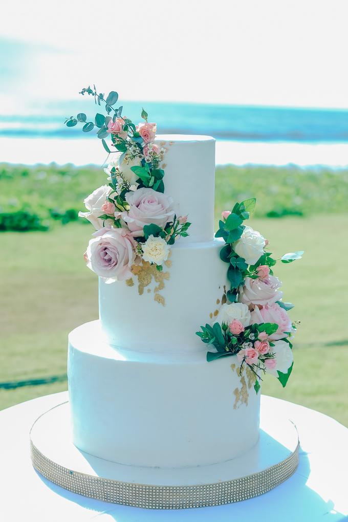 The wedding of Nicholas & Febiola by KAIA Cakes & Co. - 039