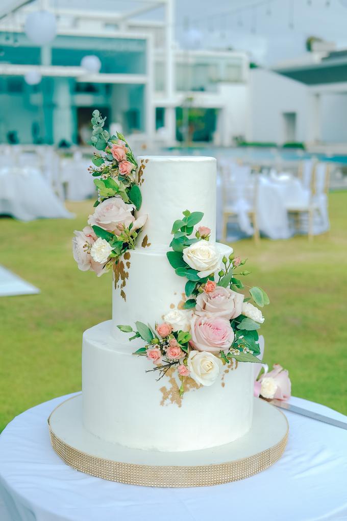 The wedding of Nicholas & Febiola by KAIA Cakes & Co. - 040