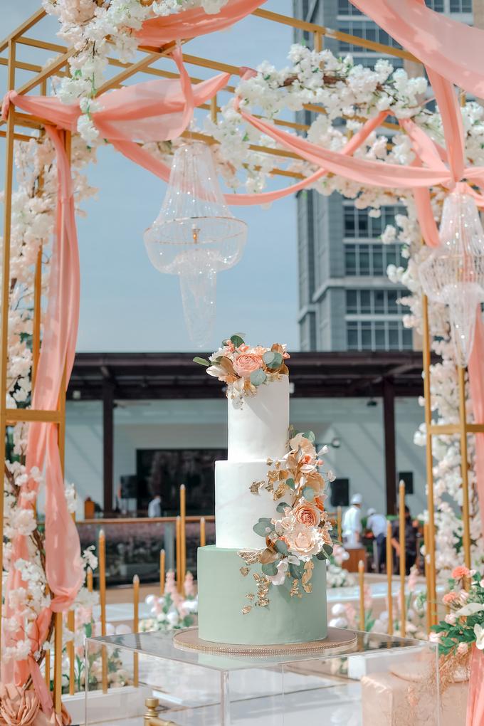The Wedding of Aditya & Amabel by KAIA Cakes & Co. - 001