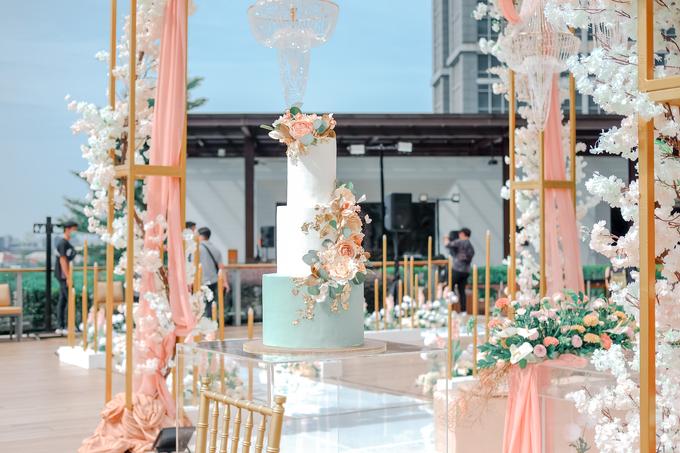 The Wedding of Aditya & Amabel by KAIA Cakes & Co. - 002