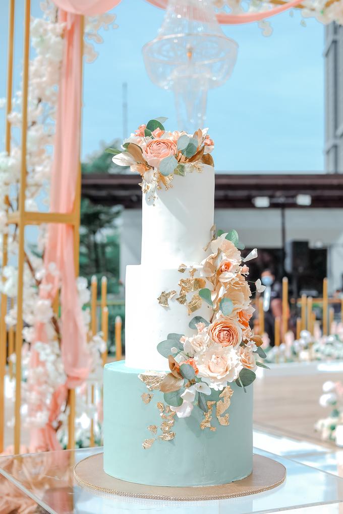 The Wedding of Aditya & Amabel by KAIA Cakes & Co. - 003