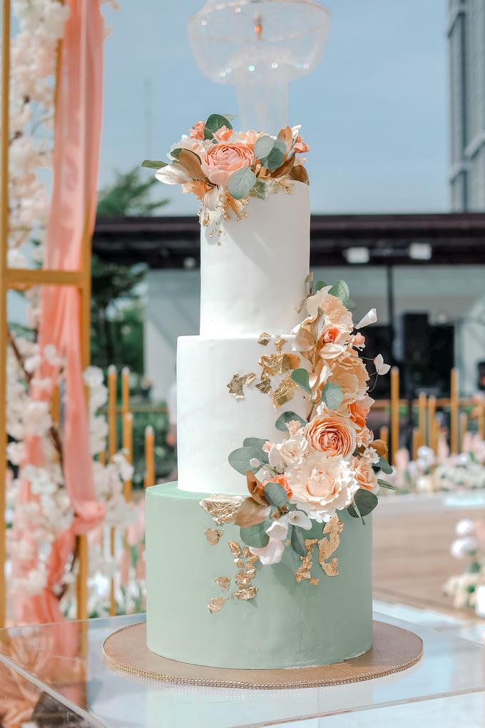 The Wedding of Aditya & Amabel by KAIA Cakes & Co. - 004