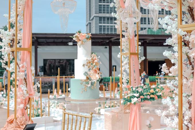 The Wedding of Aditya & Amabel by KAIA Cakes & Co. - 005