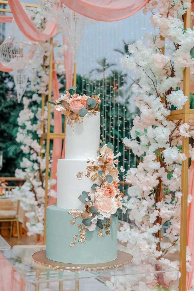 The Wedding of Aditya & Amabel by KAIA Cakes & Co. - 006