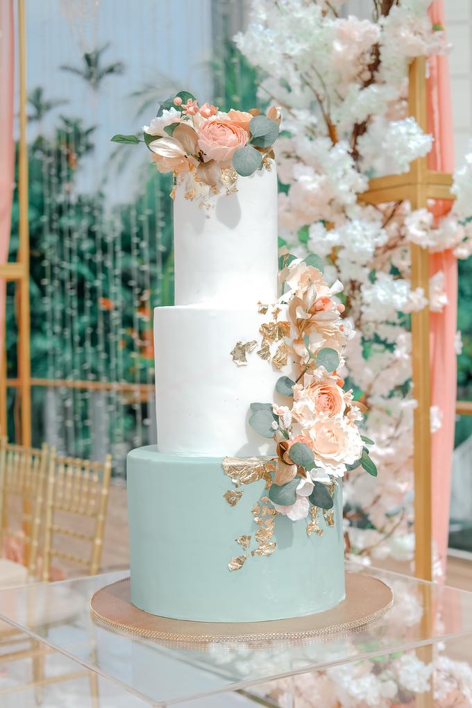 The Wedding of Aditya & Amabel by KAIA Cakes & Co. - 008