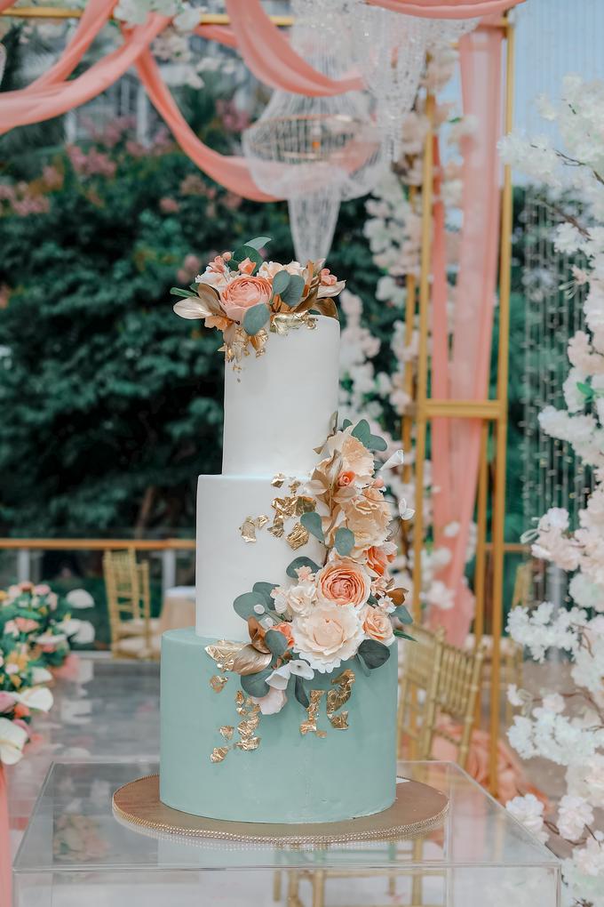 The Wedding of Aditya & Amabel by KAIA Cakes & Co. - 010