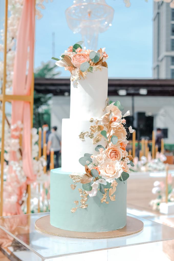 The Wedding of Aditya & Amabel by KAIA Cakes & Co. - 011