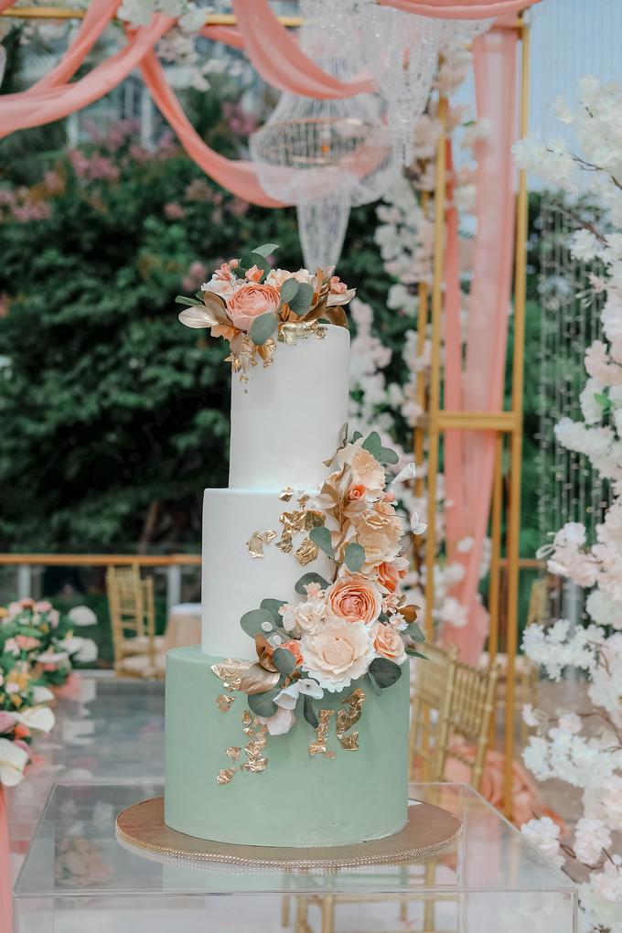 The Wedding of Aditya & Amabel by KAIA Cakes & Co. - 012