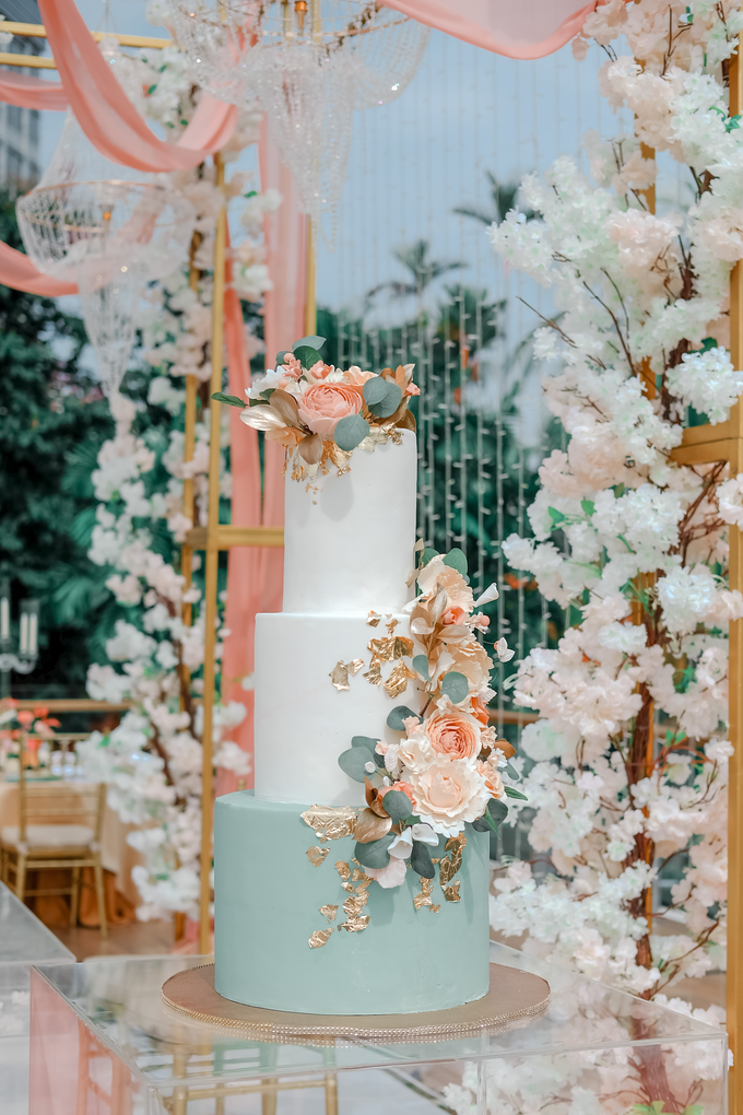 The Wedding of Aditya & Amabel by KAIA Cakes & Co. - 014