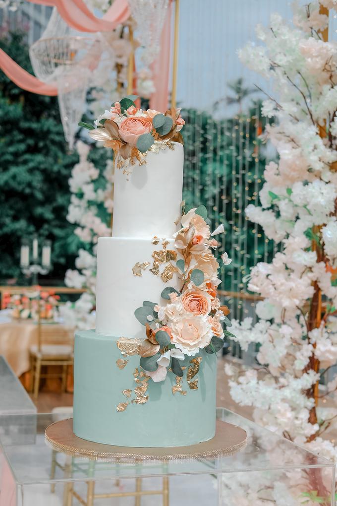 The Wedding of Aditya & Amabel by KAIA Cakes & Co. - 016