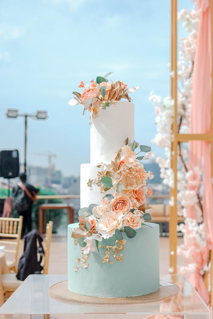 The Wedding of Aditya & Amabel by KAIA Cakes & Co. - 017