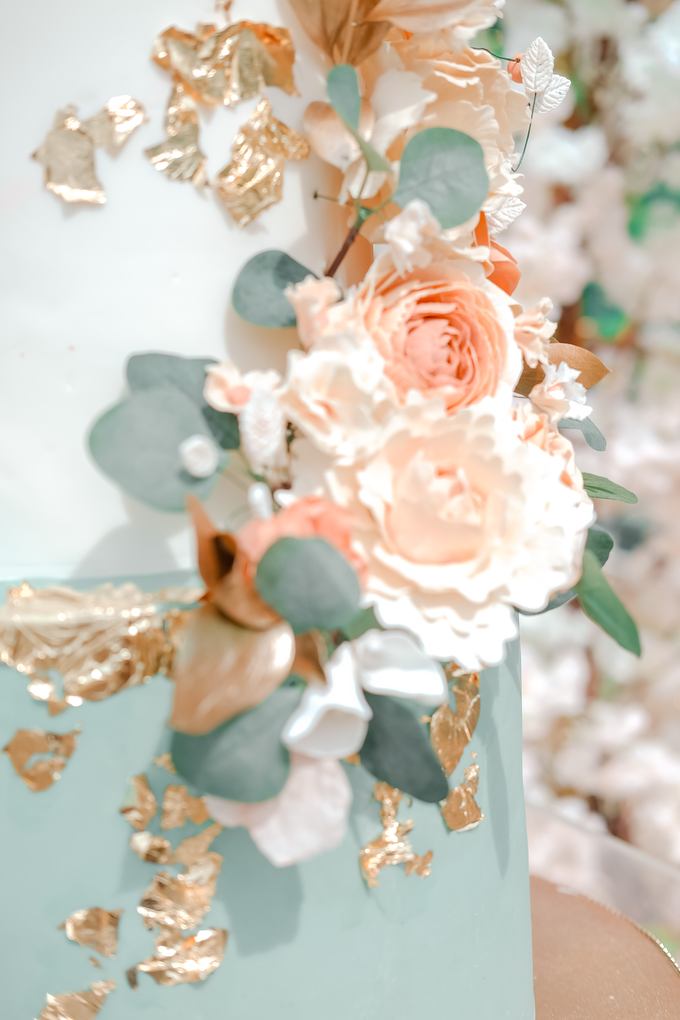 The Wedding of Aditya & Amabel by KAIA Cakes & Co. - 018