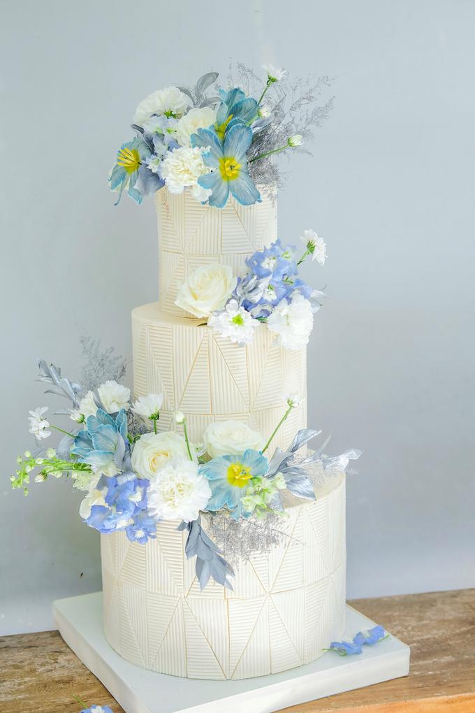 The wedding of Ferry & Kartika by KAIA Cakes & Co. - 001