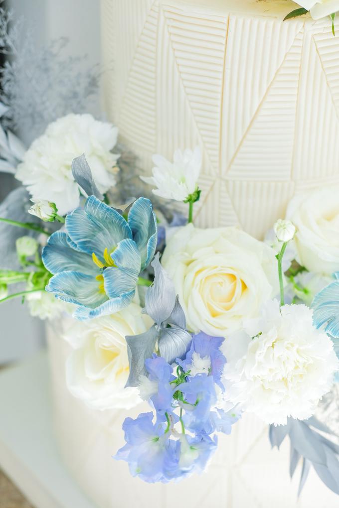 The wedding of Ferry & Kartika by KAIA Cakes & Co. - 002