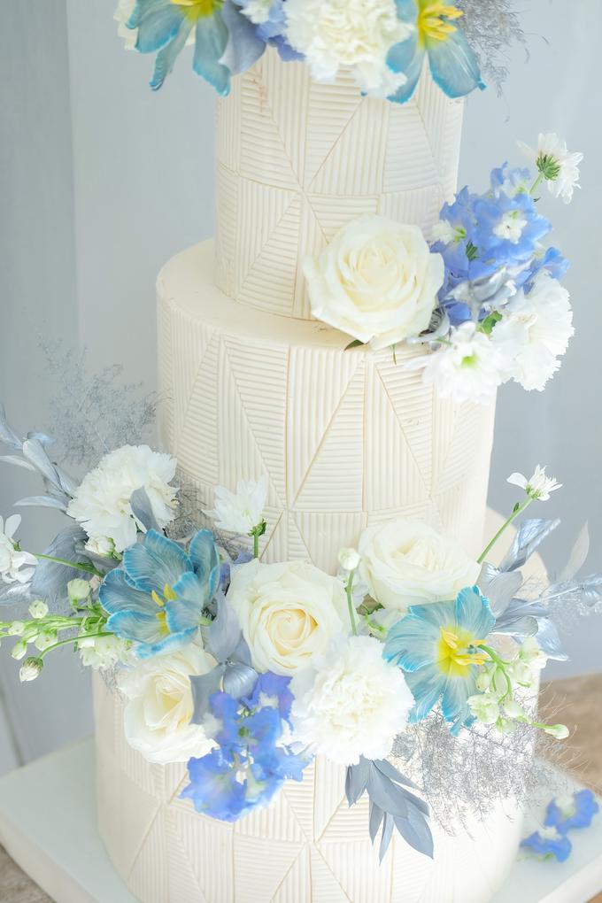 The wedding of Ferry & Kartika by KAIA Cakes & Co. - 040
