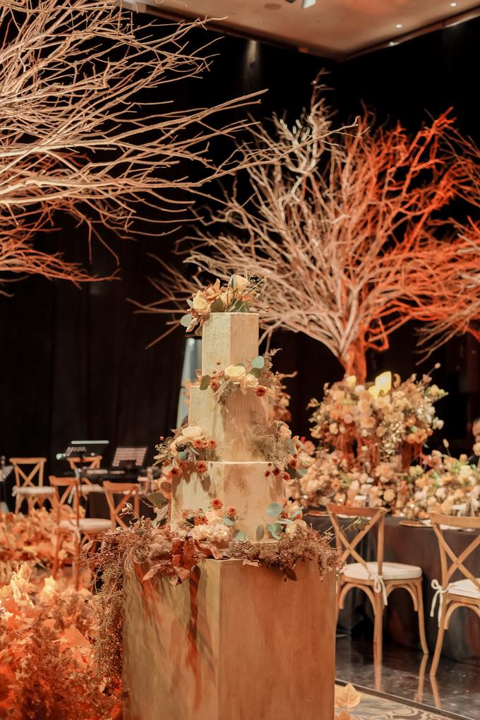 The wedding of Fritz & Jessline  by KAIA Cakes & Co. - 006