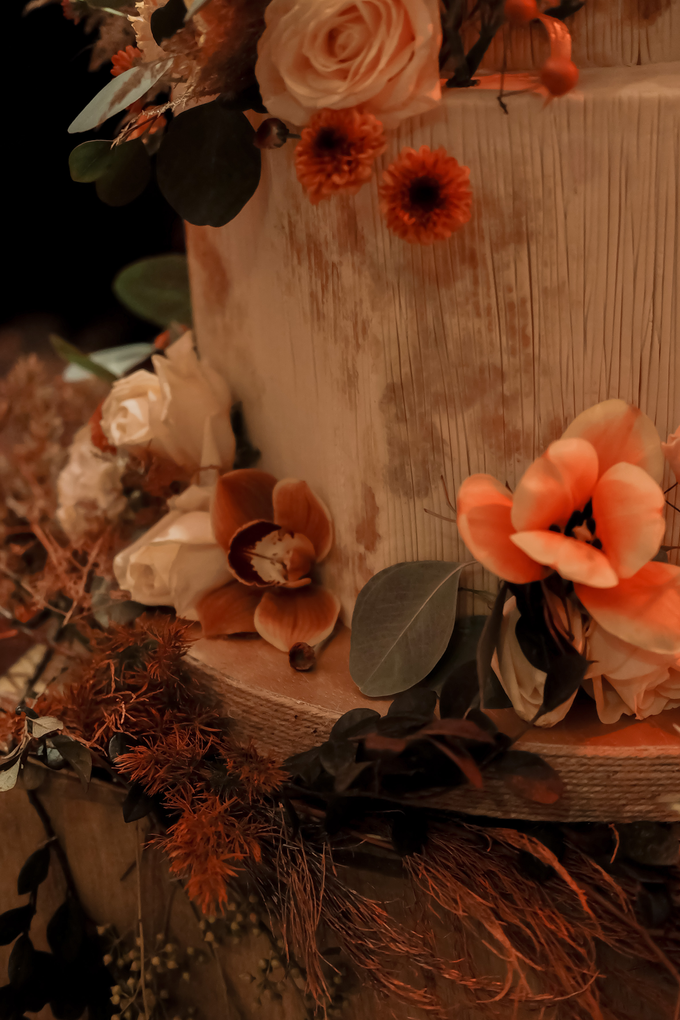 The wedding of Fritz & Jessline  by KAIA Cakes & Co. - 012