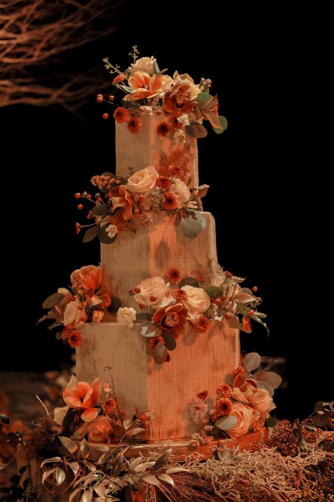 The wedding of Fritz & Jessline  by KAIA Cakes & Co. - 014