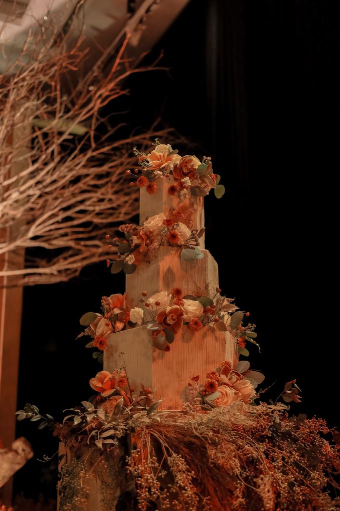 The wedding of Fritz & Jessline  by KAIA Cakes & Co. - 017