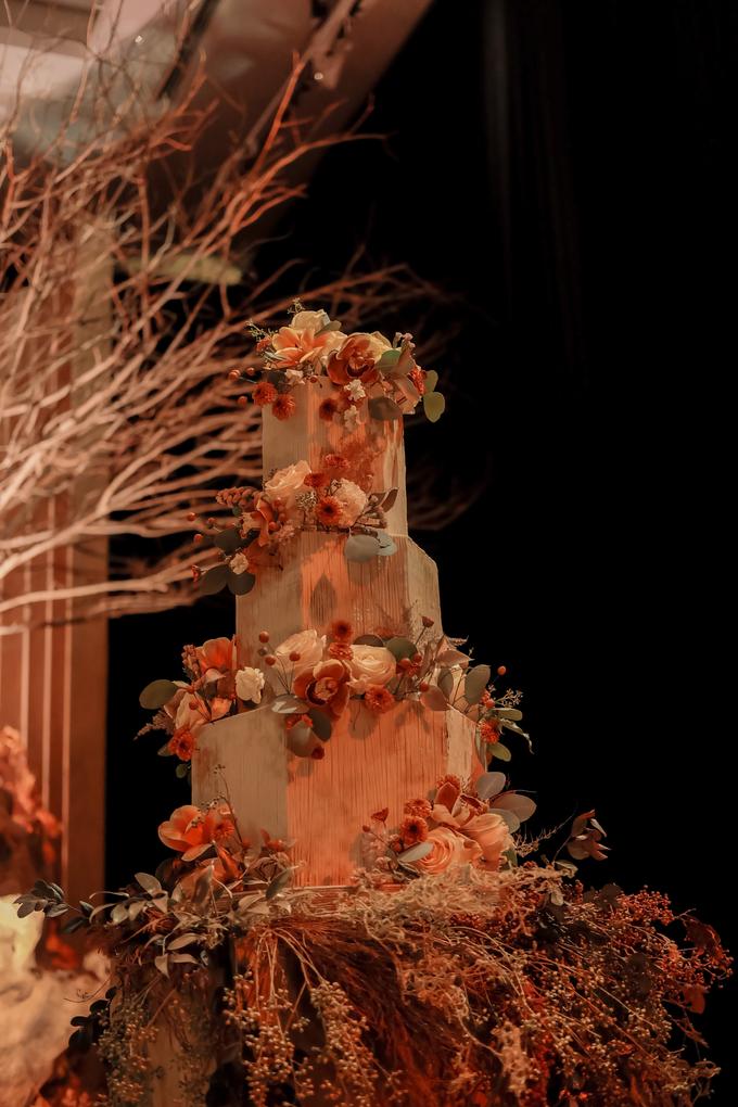 The wedding of Fritz & Jessline  by KAIA Cakes & Co. - 018