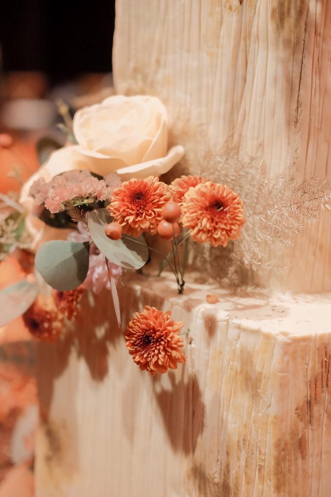 The wedding of Fritz & Jessline  by KAIA Cakes & Co. - 022