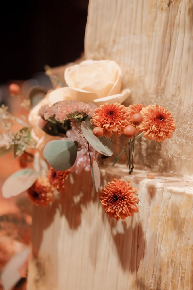 The wedding of Fritz & Jessline  by KAIA Cakes & Co. - 023