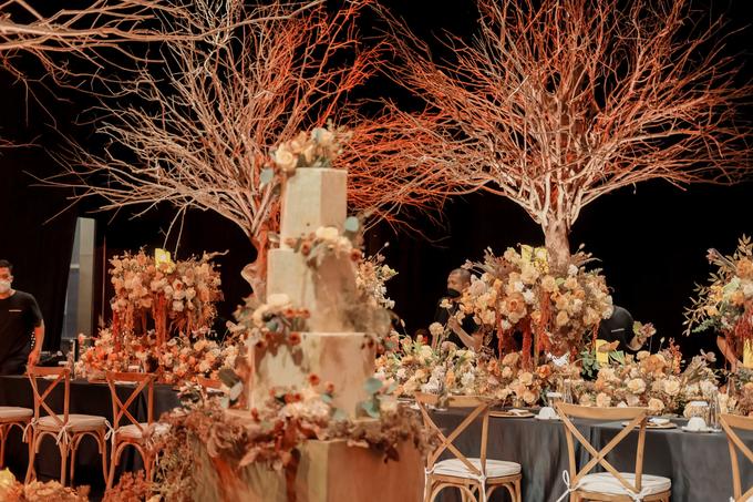 The wedding of Fritz & Jessline  by KAIA Cakes & Co. - 025