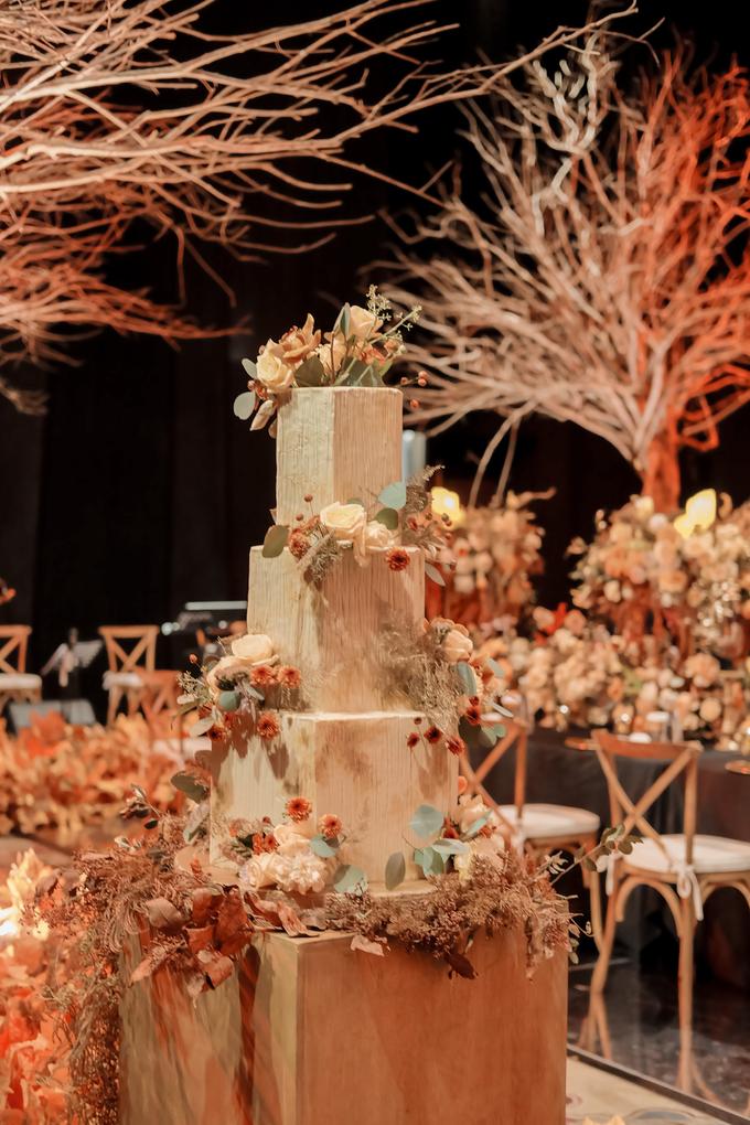 The wedding of Fritz & Jessline  by KAIA Cakes & Co. - 026