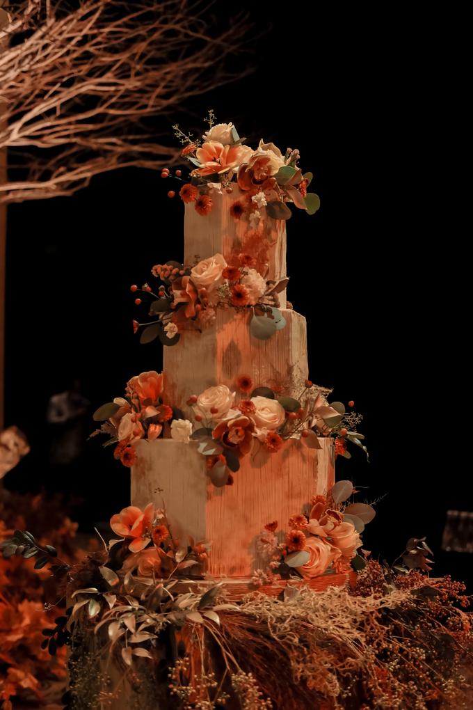 The wedding of Fritz & Jessline  by KAIA Cakes & Co. - 027
