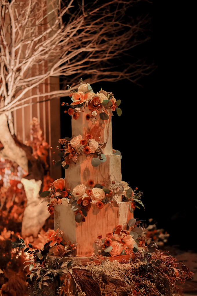 The wedding of Fritz & Jessline  by KAIA Cakes & Co. - 028