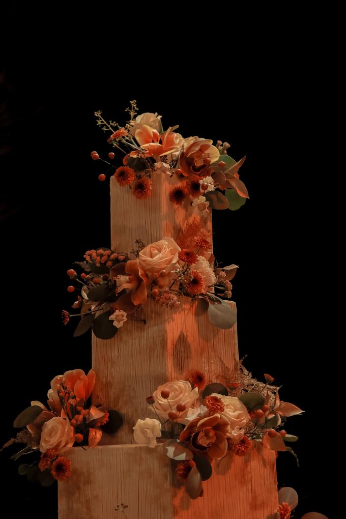 The wedding of Fritz & Jessline  by KAIA Cakes & Co. - 030